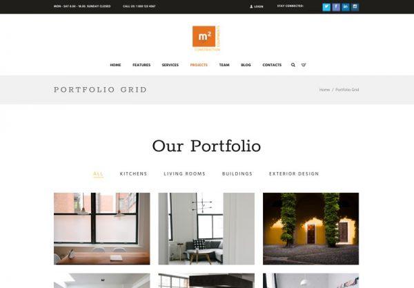Construction Building Tool Web Design