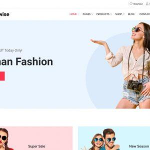 Fashion & Clothing Web Design