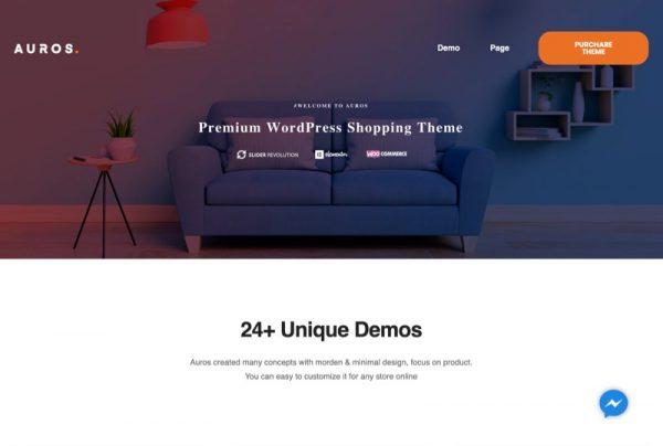 Furniture Web Design Theme