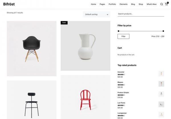 Furniture & Home Decoration Store Web Design