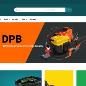 Hardware Equipment Web Design