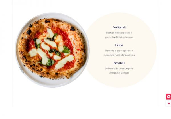 Restaurant Web Design Theme