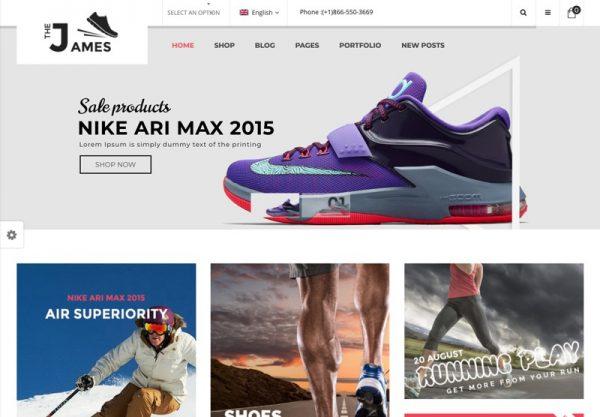 Shoes Store Web Design