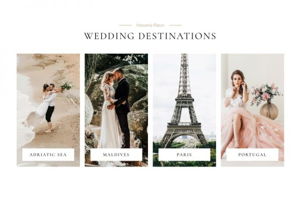 Wedding Web Design Theme