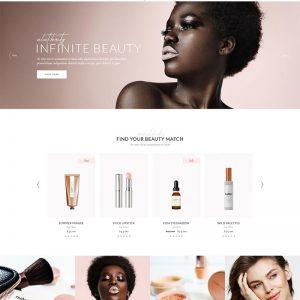 Cosmetic Website Theme